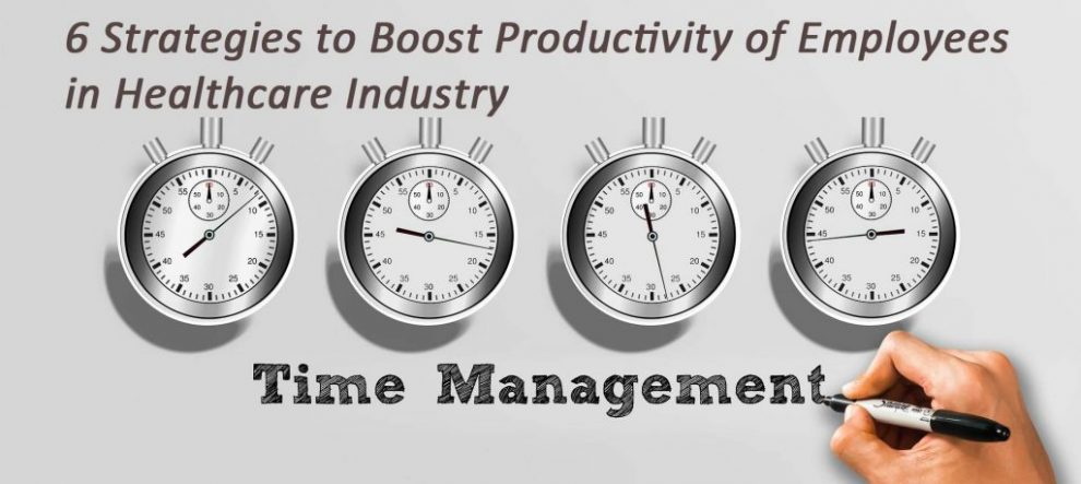 6 Strategies to Boost Productivity of Employees in the Healthcare Industry Workplace productivity is a must requirement for businesses today. With ever-growing demand, however, matching up to customer expectations along with keeping productivity level high is indeed difficult for an employer. How can a poor performer be turned into a power pact performer? What must be done to boost employee productivity? These are some of the questions that keep coming every now and then in the mind of employers. Especially in the healthcare space, where labor shortage is already putting a lot of pressure and burden on existing employees who are on the verge of exhaustion, productivity sounds like a distant dream. Making efficient use of available labor to turnaround things in favor of business is what healthcare organizations keep struggling for. However, here are some six effective strategies that can help healthcare employers improve the productivity of their medical workers and professionals. Following these strategies will help healthcare systems and facilities provide better quality care to patients. 1. Provide the Right Tools to Streamline Workflow To extract the best performance of your healthcare workers, hospitals, or any healthcare organization must ensure that they provide employees useful tools. Selecting the right software or tool that makes working efficient and easier is what can boost the productivity of your workforce. Here are some of the tools, healthcare brands need to give to their employees to help them work better: Collaboration Apps Teamwork is an essential part of the success of any team. It is only possible when the team is on the same page and are aware of what everyone in the group is up to, keeping track of every activity. This is when the collaboration tools like project management software or apps come into use. There are readily available project management tools in the market that can help your healthcare workers manage workflow with real-time data 