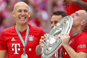 Arjen Robben welcomes Franck Ribery's Bayern Munich return