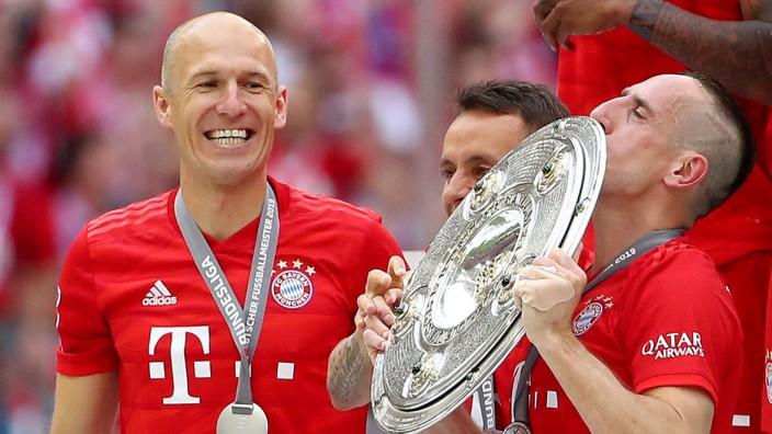 Arjen Robben welcomes Franck Ribery's Bayern Munich return