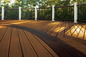 Plastic Wood Composite Decks For Daily Use
