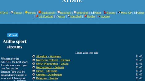 ATDHE Alternatives